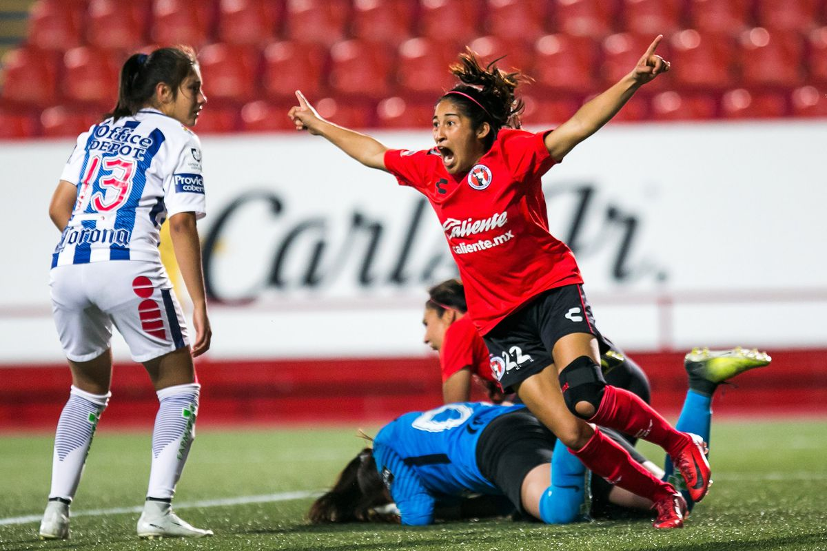 Samantha Arellano is one of the players returning to Xolos Femenil for the 2018 Apertura season.