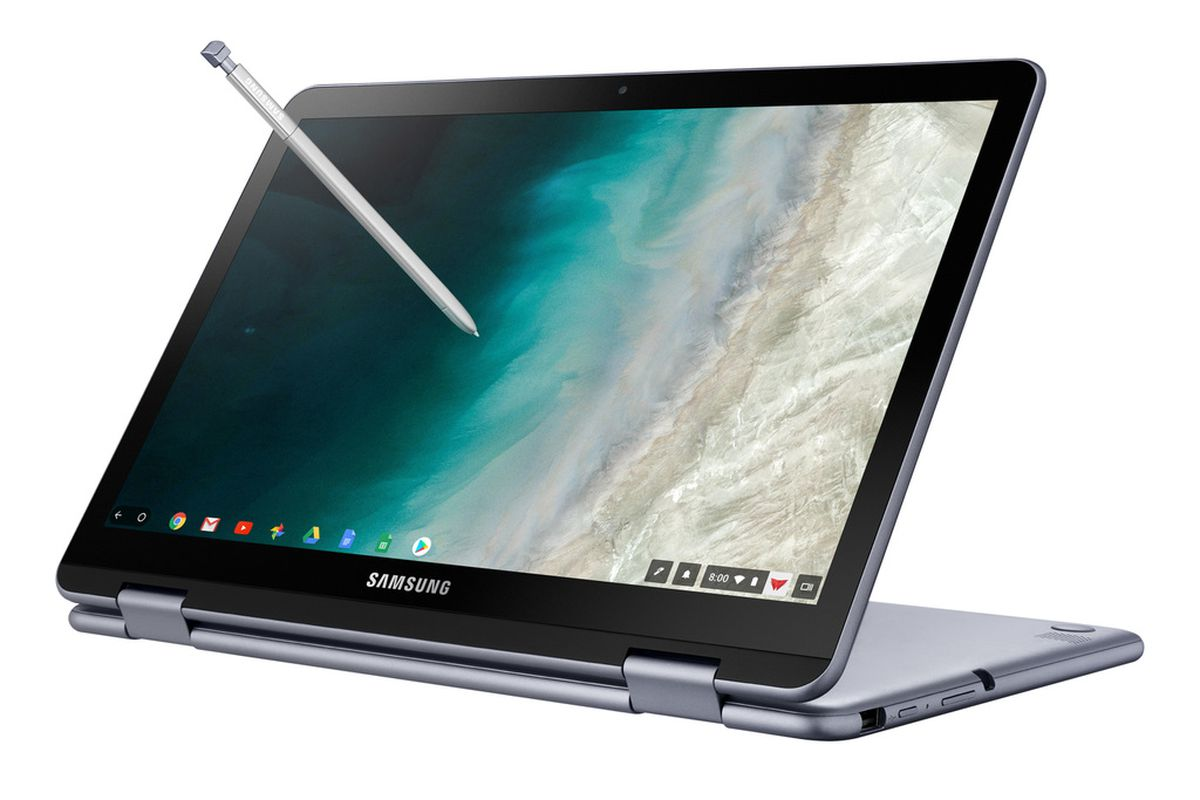 samsung upgrades the chromebook plus with a second camera and new processor - fortnite for google chromebook