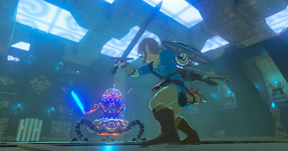 Breath of the Wild is what happens when Zelda grows up