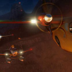 """Cabbie, Dusty and Dipper help battle a massive wildfire in Disney's """"Planes: Fire & Rescue."""""""