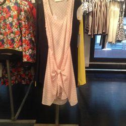 Tie detail dress, $75