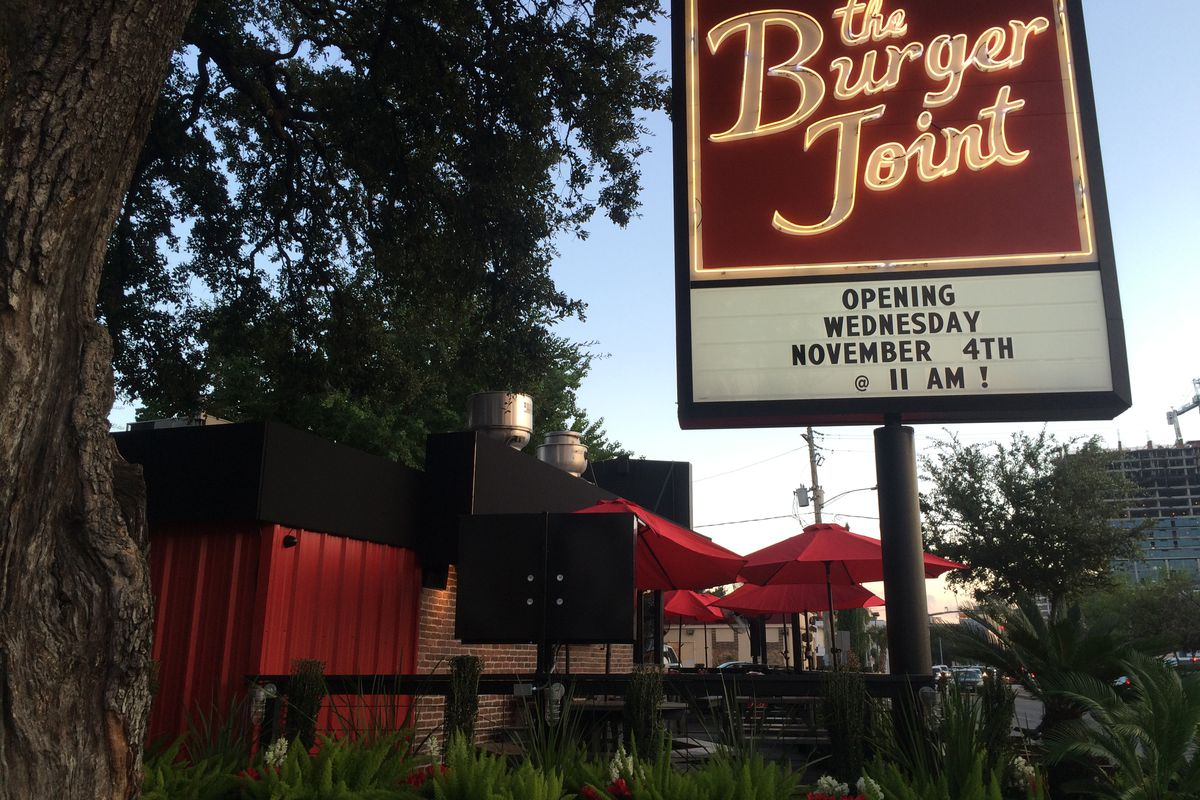 Burger Joint Now Open