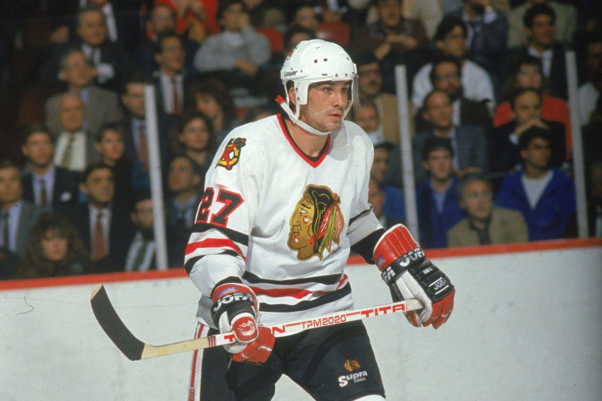 Rick Vaive Of The Blackhawks