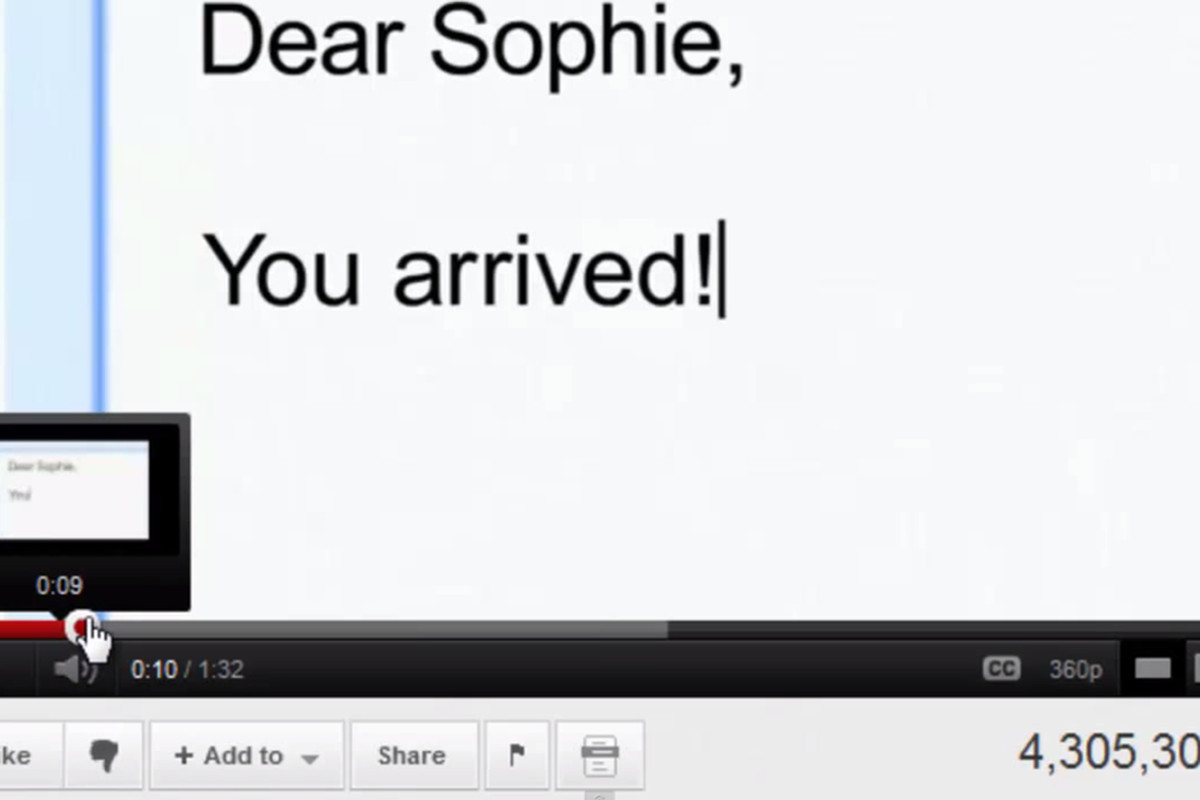youtube storyboard