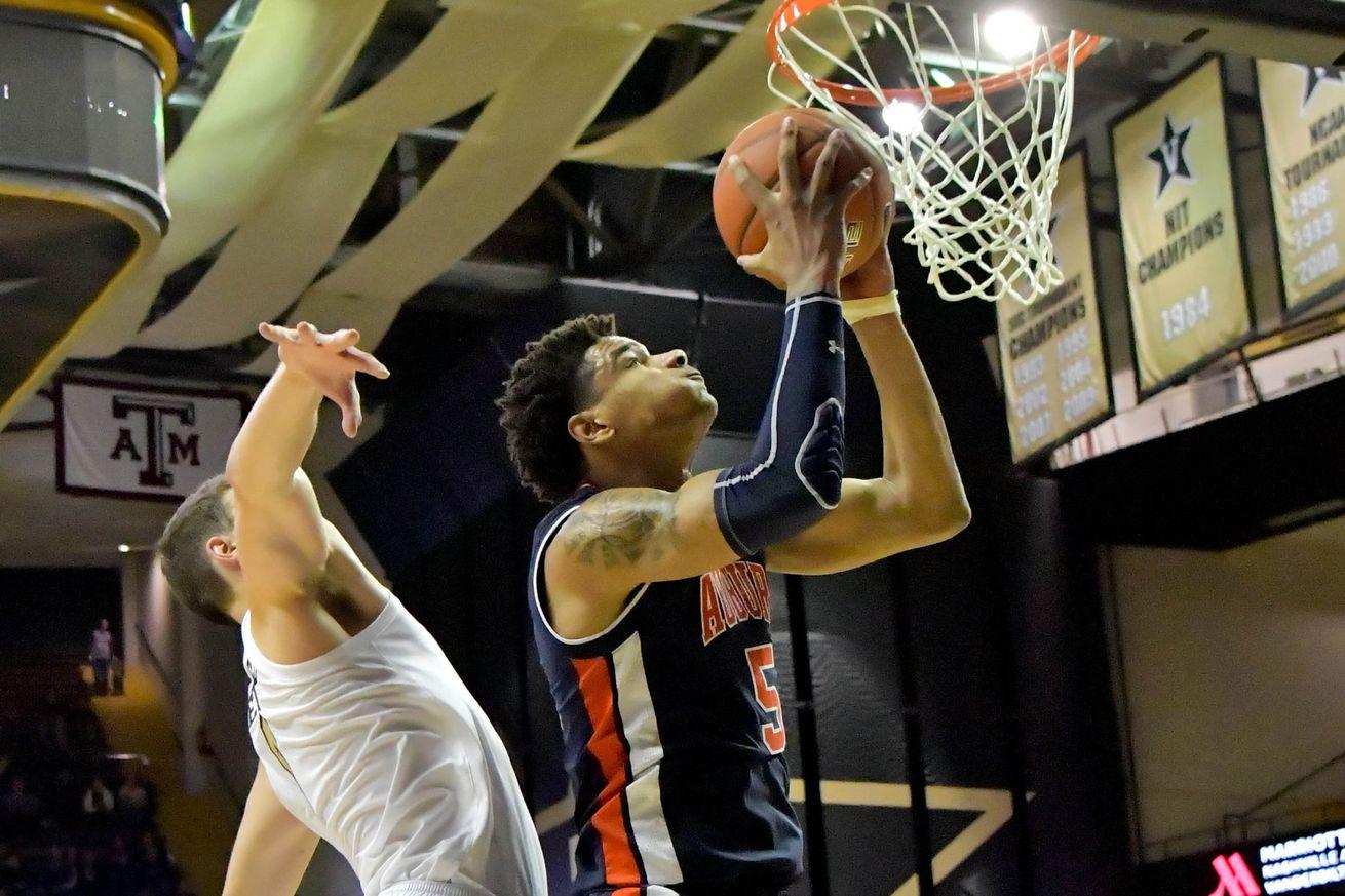 NCAA Basketball: Auburn at Vanderbilt
