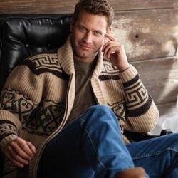 """Pendleton's tribute """"Dude"""" sweater, $188, available this fall"""