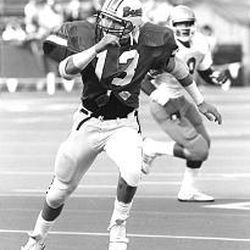 Bronco Mendenhall during his playing days at Oregon State.
