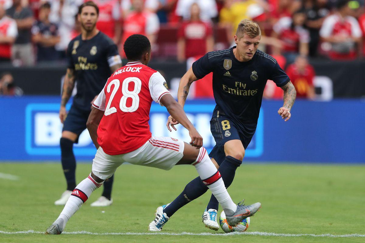 Real Madrid v Arsenal - 2019 International Champions Cup
