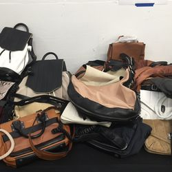 Leather bags, $195