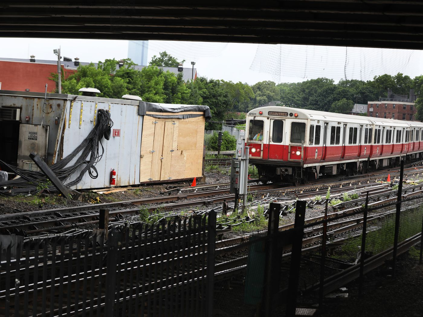 Red Line service expected to return to normal in October, MBTA says