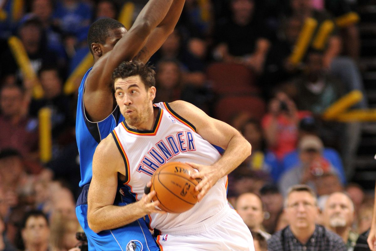 Who wants to bet this play resulted in a sick left-handed Nick Collison hook shot?