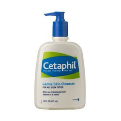 """<b>Cetaphil</b> Gentle Skin Cleanser is as gentle and effective as it gets when it comes to facial cleansers. <a href=""""http://www.cvs.com/shop/product-detail/Cetaphil-Daily-Facial-Cleanser?skuId=108685"""">$8.39</a> at CVS"""