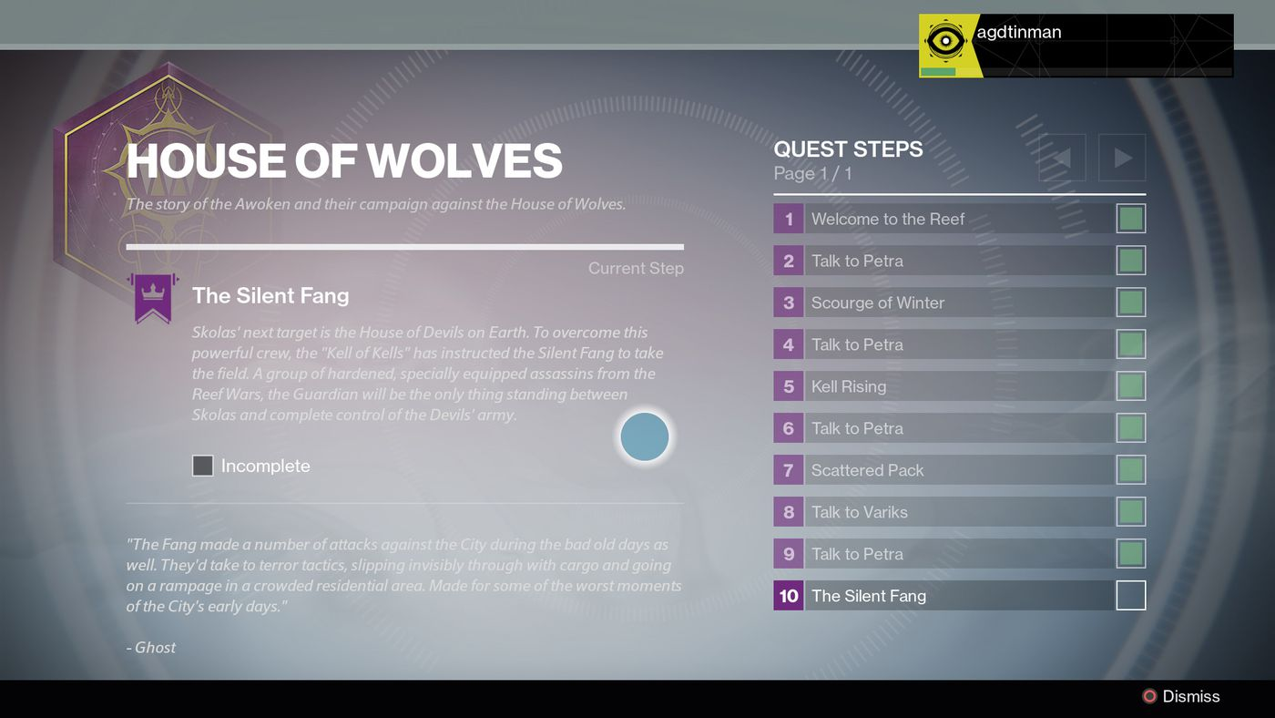 Destiny: The Taken King will greatly improve quests and bounties