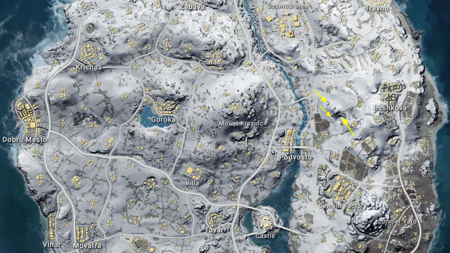 Pubg Hd Map: How To Enter The Secret Loot Cave In PUBG's Snow Map