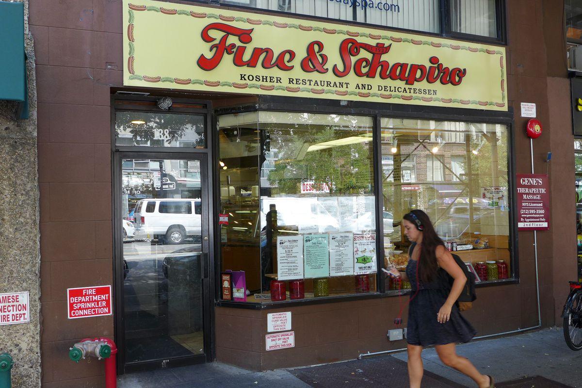 Upper West Side Jewish Deli Fine