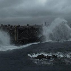"""The Ark in """"Noah,"""" from Paramount Pictures and Regency Enterprises."""