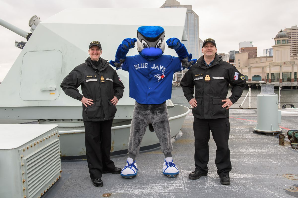 Toronto Blue Jays Mascot