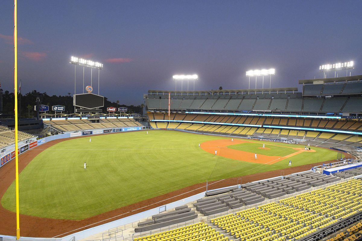 MLB: JUL 09 Dodgers Summer Camp