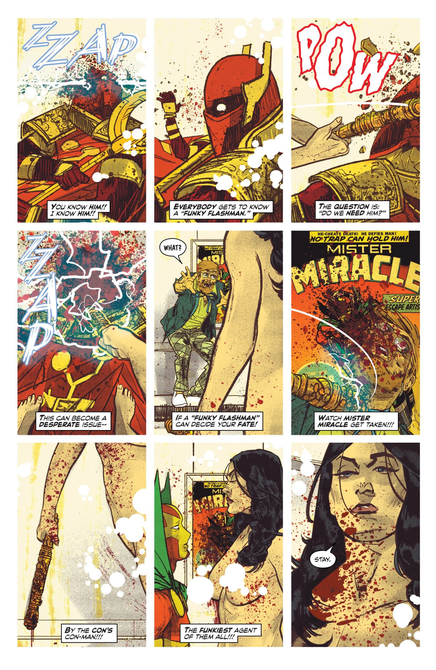 DC Comics' Mister Miracle: an annotated guide to every