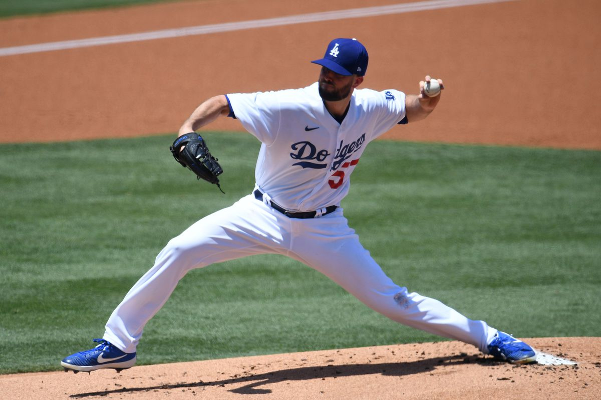 San Francisco Giants defeated the Los Angeles Dodgers 5-4 during a MLB baseball game at Dodger Stadium in Los Angeles, California.