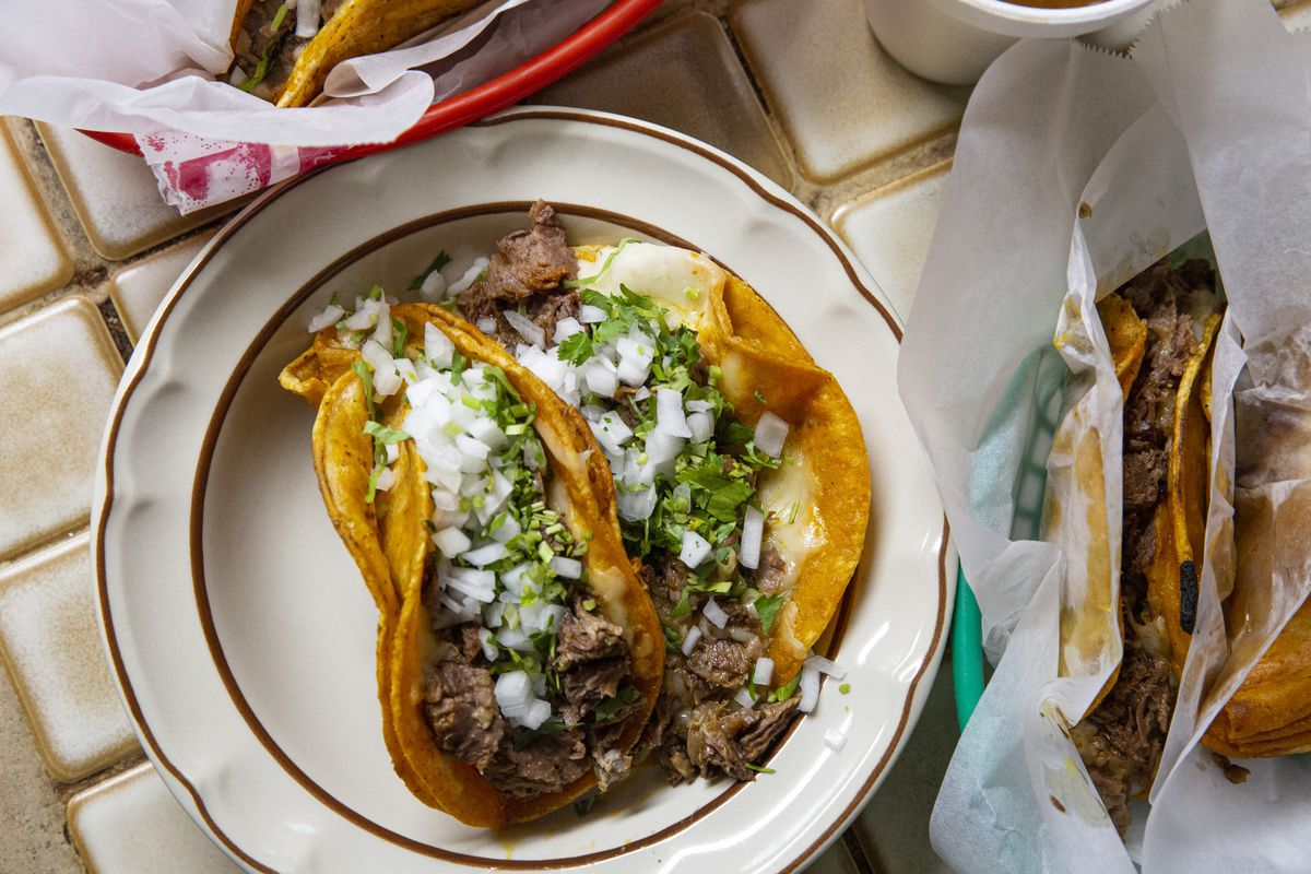 One of Birrieria Ocotlan's most popular versions of birria is the birria quesotaco, which is only served on Thursdays.