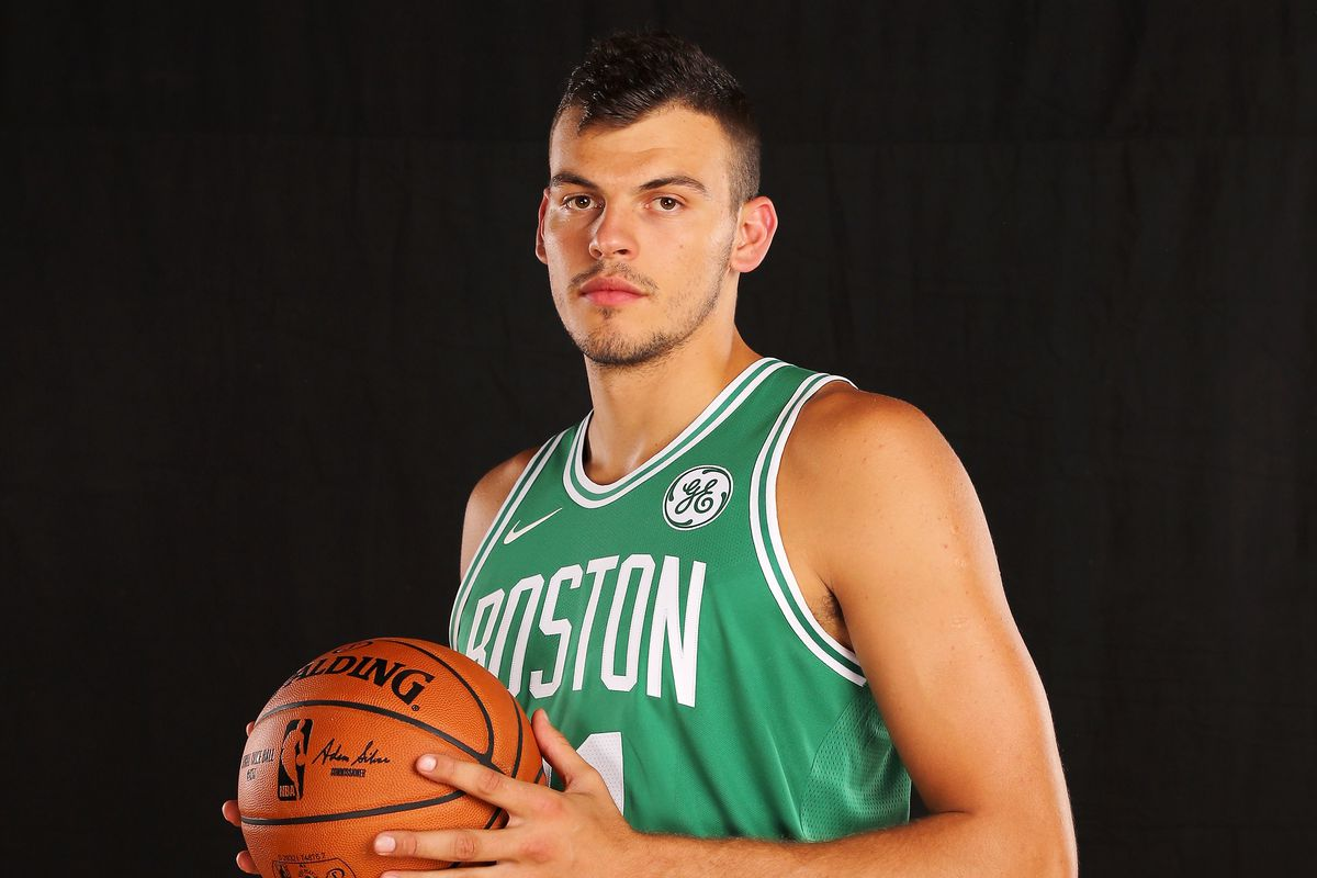 the latest b1e10 635cb Who is Ante Zizic and why is he part of the Kyrie Irving ...