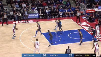 Screen Shot 2019 02 01 at 8.39.52 AM - Blake Griffin and Reggie Jackson played the most miserable 13 seconds of hot potato basketball
