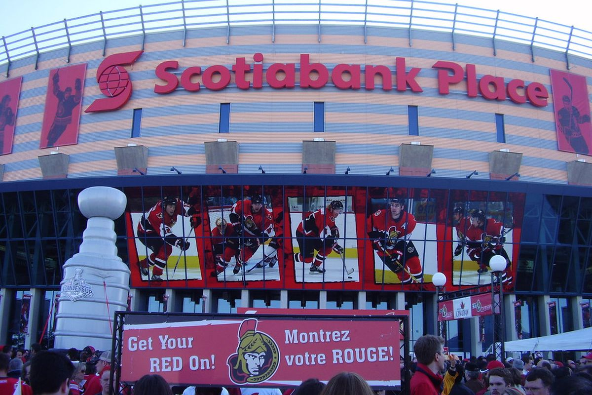 Make a hockey-lovin' face at Scotiabank Place, and do so without the significant risk of food poisoning present at so many other pro sports venues!