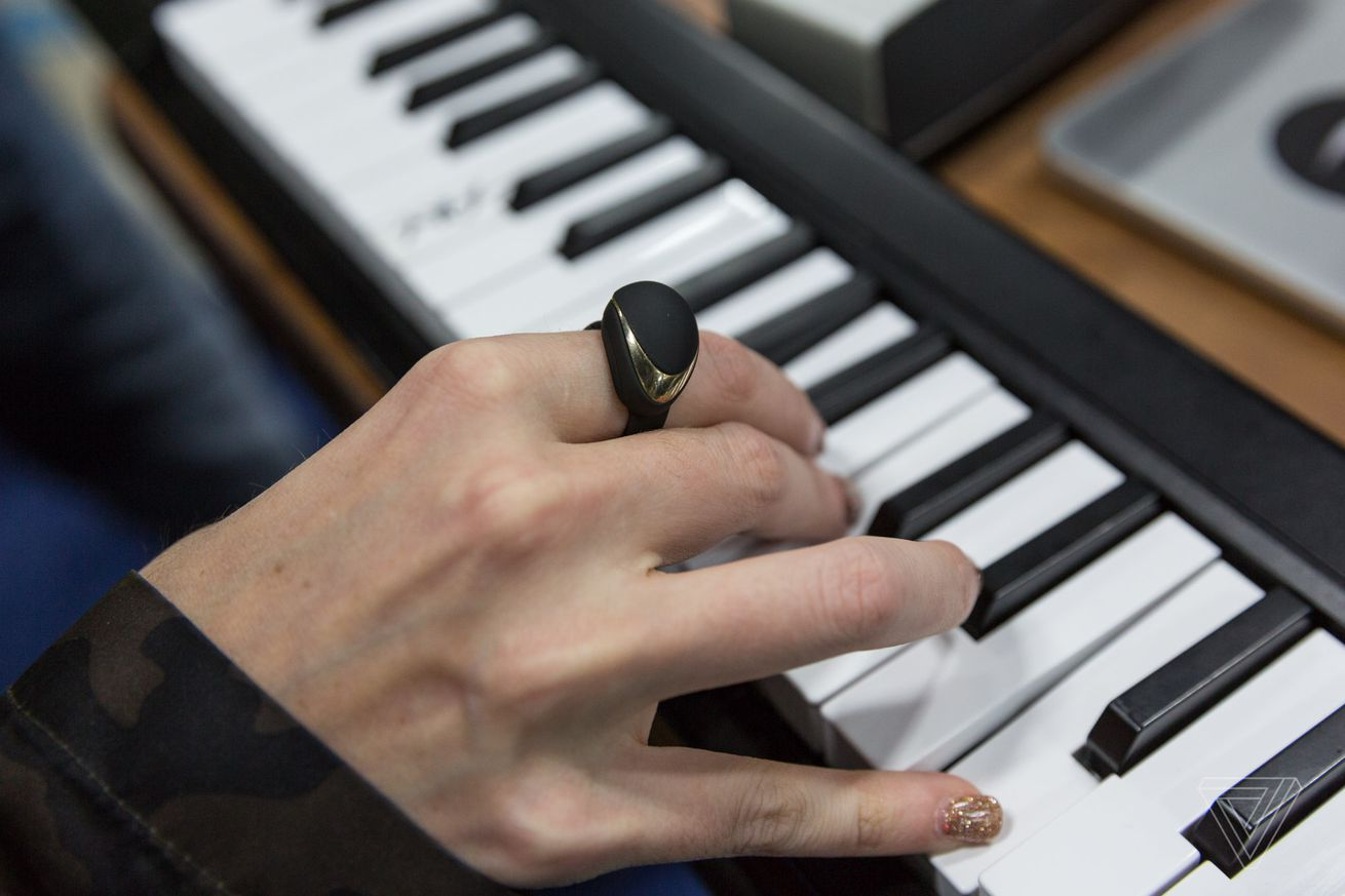 enhancia s wireless midi ring for musicians is now on kickstarter