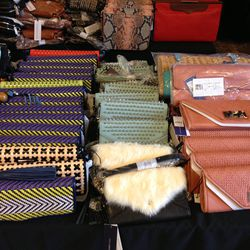 Clutches and smallers crossbody bags, $125-$150.