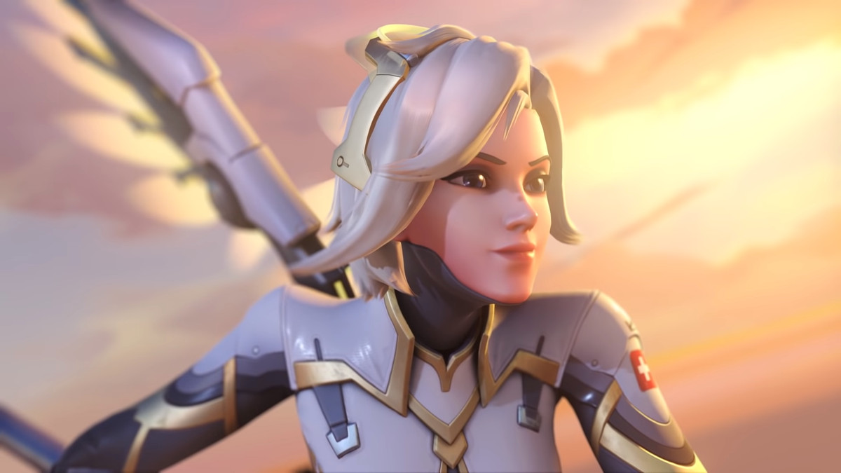 Mercy S New Haircut For The Overwatch 2 Redesign Is