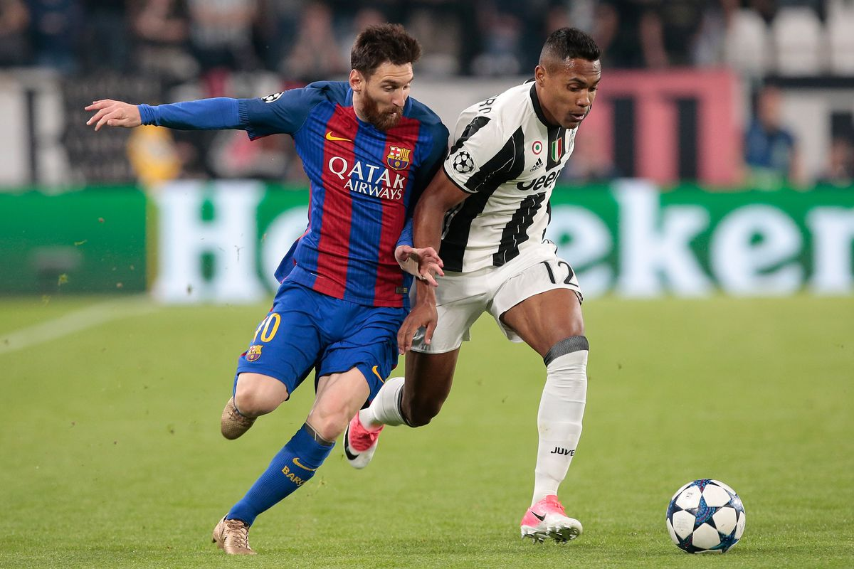Lionel Messi discussed Neymar with Ousmane Dembele after Juventus win