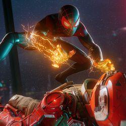 <em>Spider-Man: Miles Morales</em> on PlayStation 5.