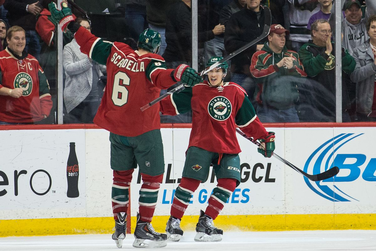 Marco Scandella and Jared Spurgeon are excellent young defensemen who could fetch value in a trade.