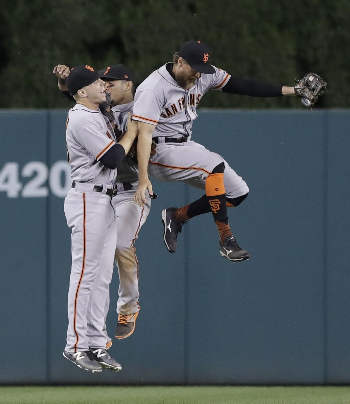 David Ross said Hunter Pence does a good job keeping his teammates focused on the game at<br>hand.   Carlos Osorio/Associated Press