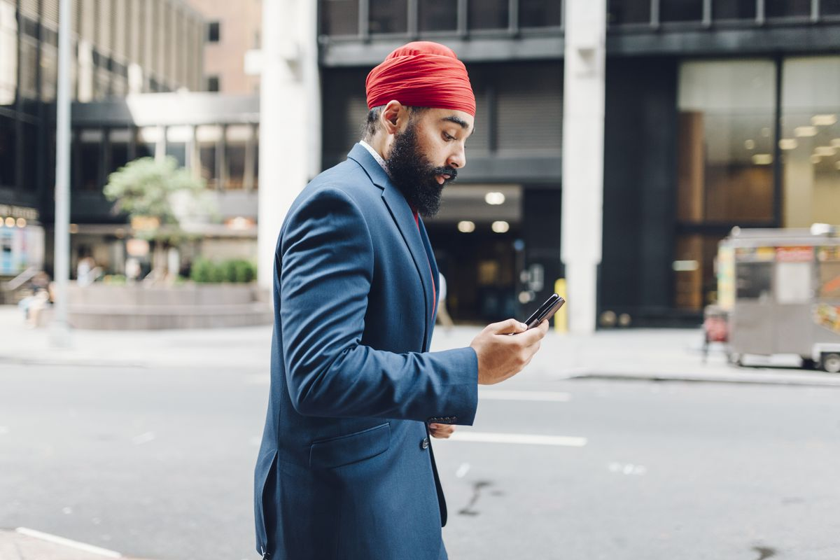 Sikh men follow religious mandates that require them to wear beards and turbans.