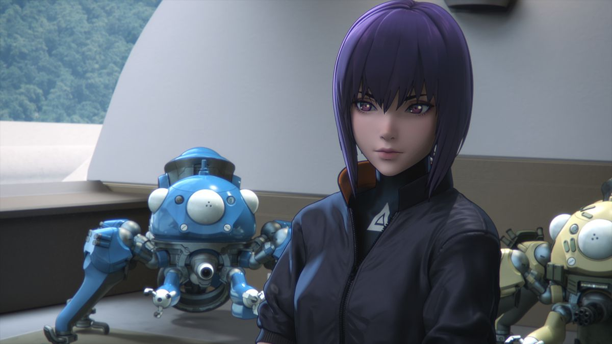 Ghost In The Shell Sac 2045 Review Netflix S New Anime Is A Thin Sequel Polygon