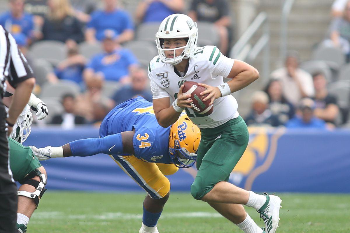 Recap: Rourke surges Ohio past Kent State in 45-38 offensive thriller