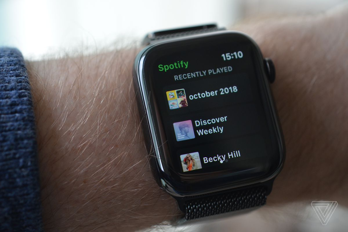 Spotify launches its Apple Watch app - The Verge