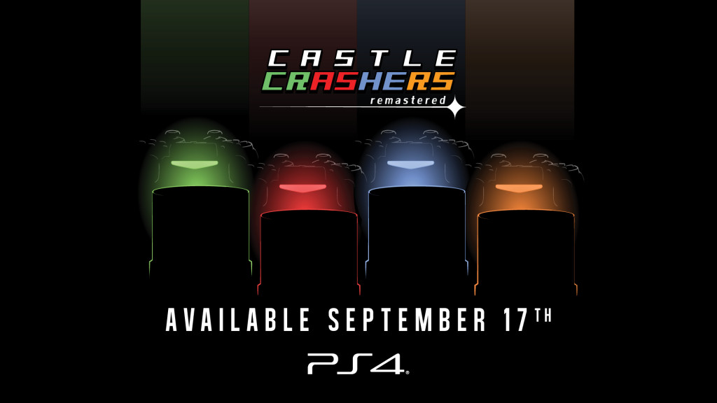 Announcement image for Castle Crashers Remastered on the PlayStation 4