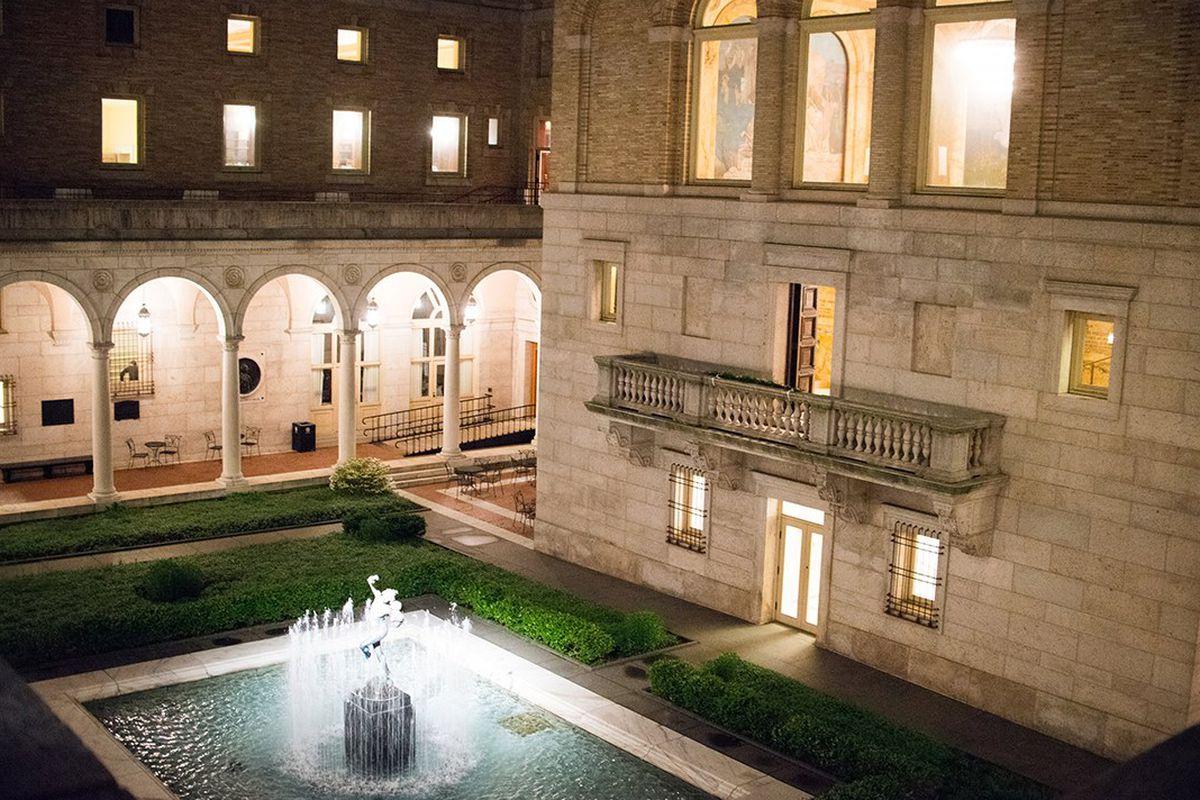 Boston Public Library Courtyard