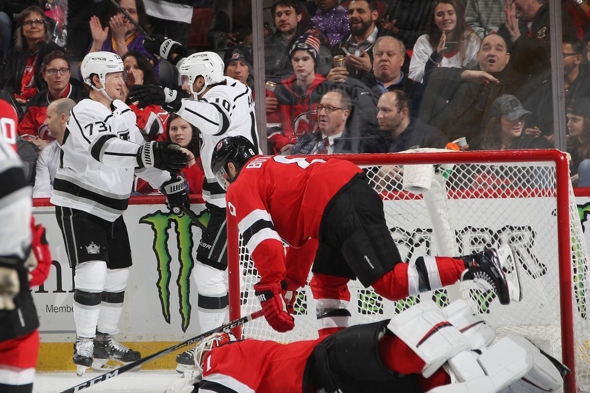 Disastrous Third Period Start Doomed New Jersey Devils to 1-5 Defeat to Los  Angeles Kings 52836a142
