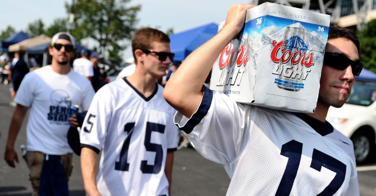 Beer situations at college football neutral site games, ranked ...