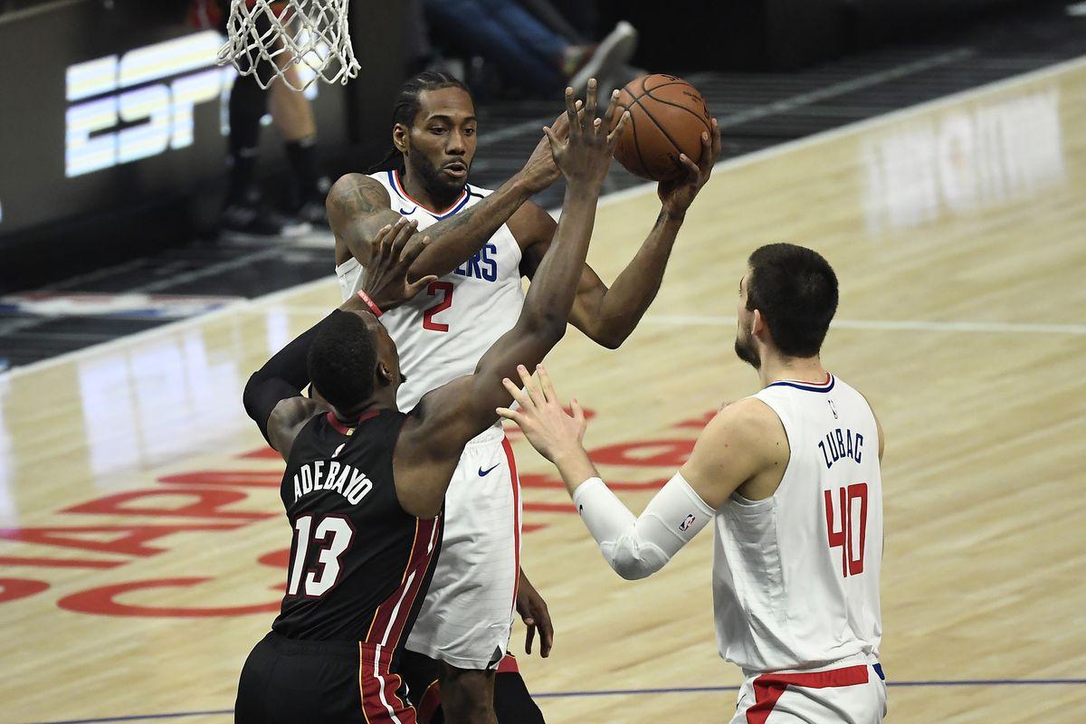 Miami Heat v Los Angeles Clippers