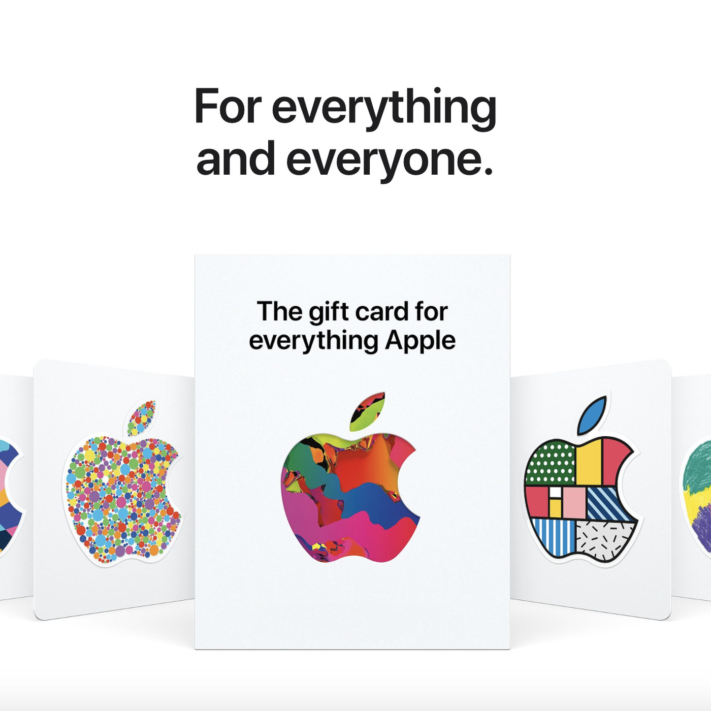 Apple's new universal gift card can be used to purchase 'Everything Apple'  - The Verge