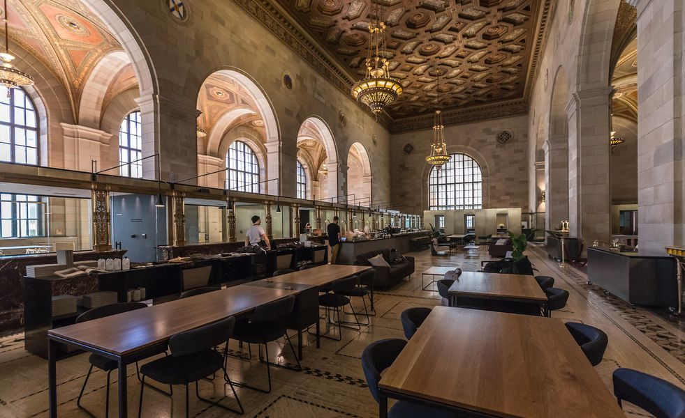 historic montreal landmark repurposed as breathtaking caf