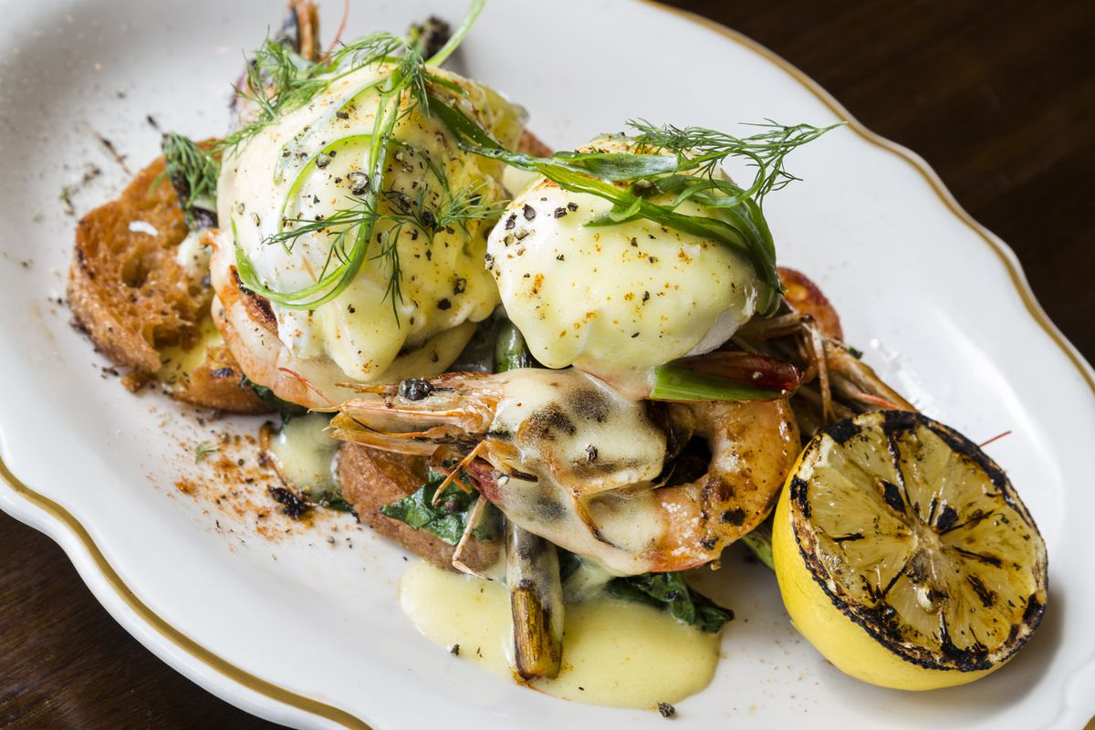 Easter Sunday is a fine time to scope out State of Grace's new brunch menu.
