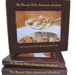 Beverly Hills cookbook, $39.95.