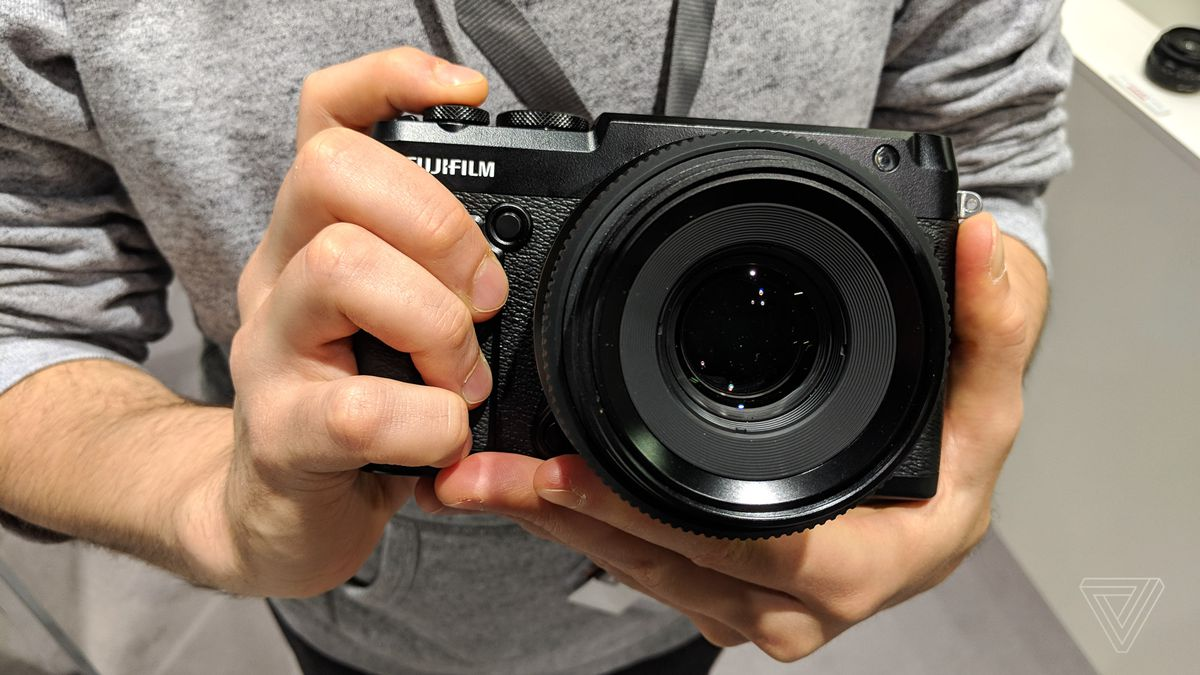 Fujifilm's GFX 50R is the biggest and baddest street camera yet