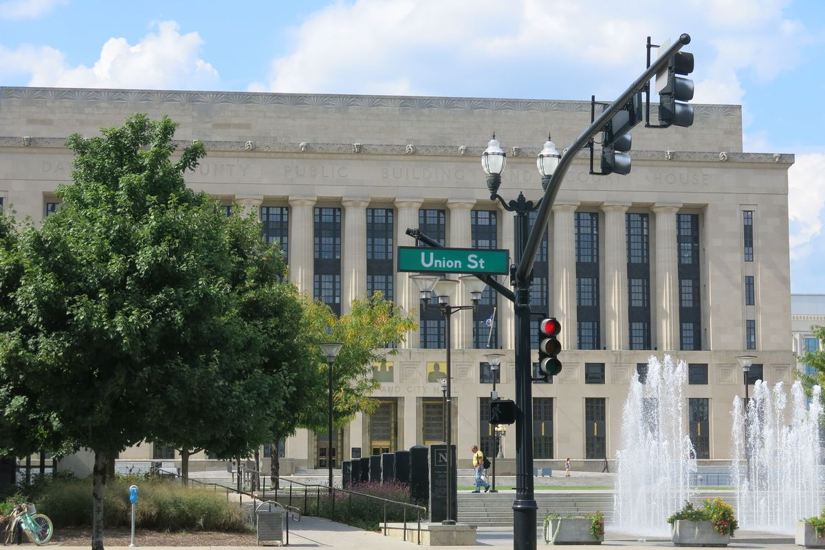 Nashville's Davidson County Chancery Court building is the venue for hearings in a lawsuit against the state over Tennessee's K-12 education funding.